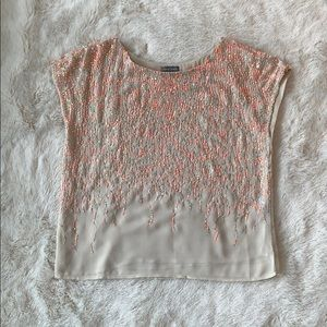 Vince Camuto | Beaded Blouse